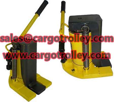 Lifting moving jack portable and affordable