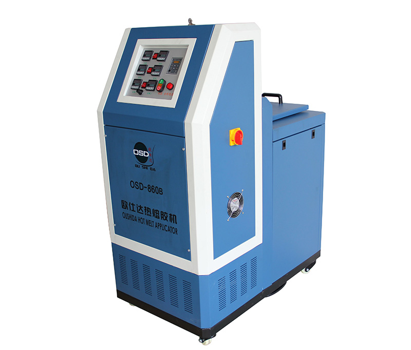 OSD-860B Hot Melt Glue Machine with Gear Pump