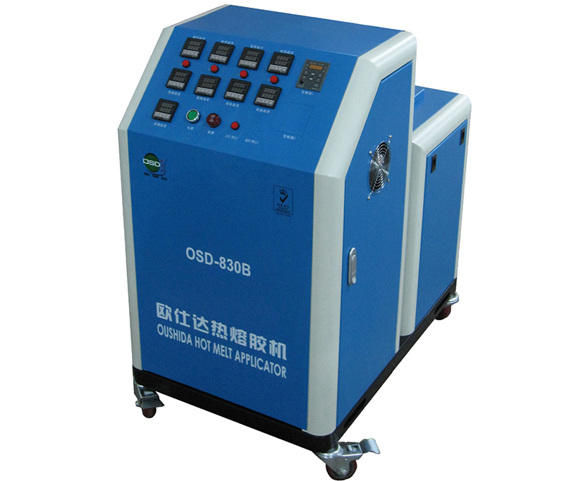 OSD-830B Hot Melt Glue Machine with Gear Pump