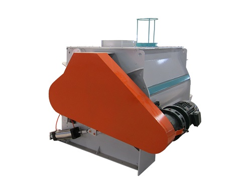 High efficiency double shaft Mixer supplier