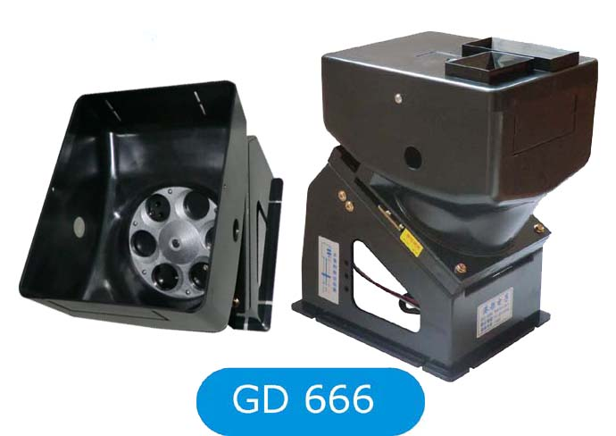 [GD]666 6 Hole coin hopper counter for water dispenser