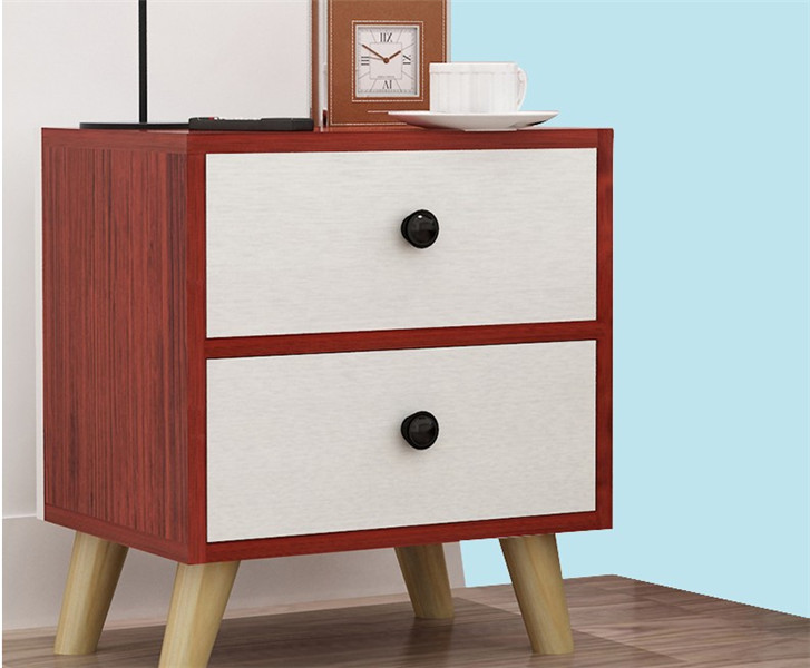 modern design wood bedside table night table