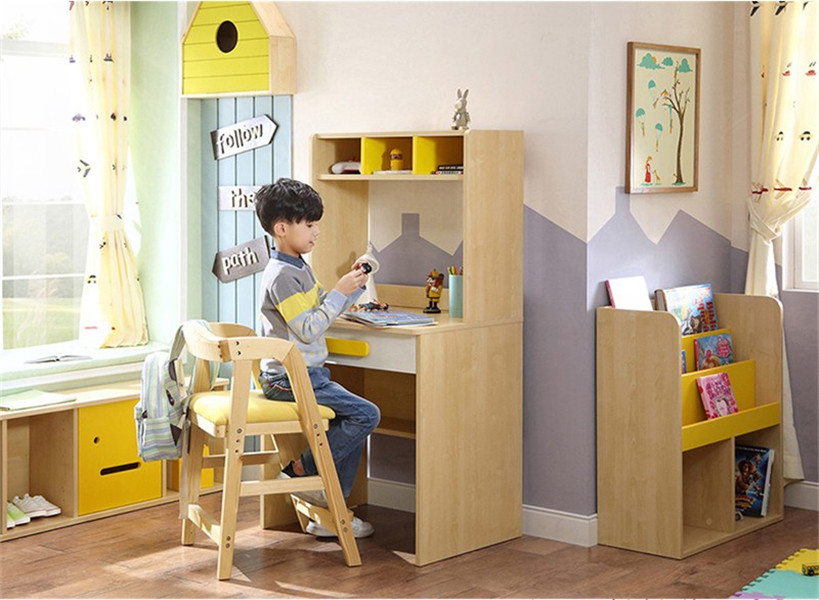 healthy mdf chipboard wood kids room desk