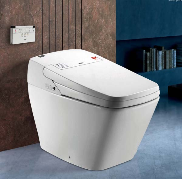 TCB808 One Piece  Smart lavatory nightstool   Intelligent commode closestool