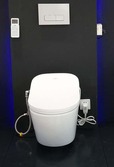 SAT530  Smart Intelligent Toilet bidet wall hung drainage