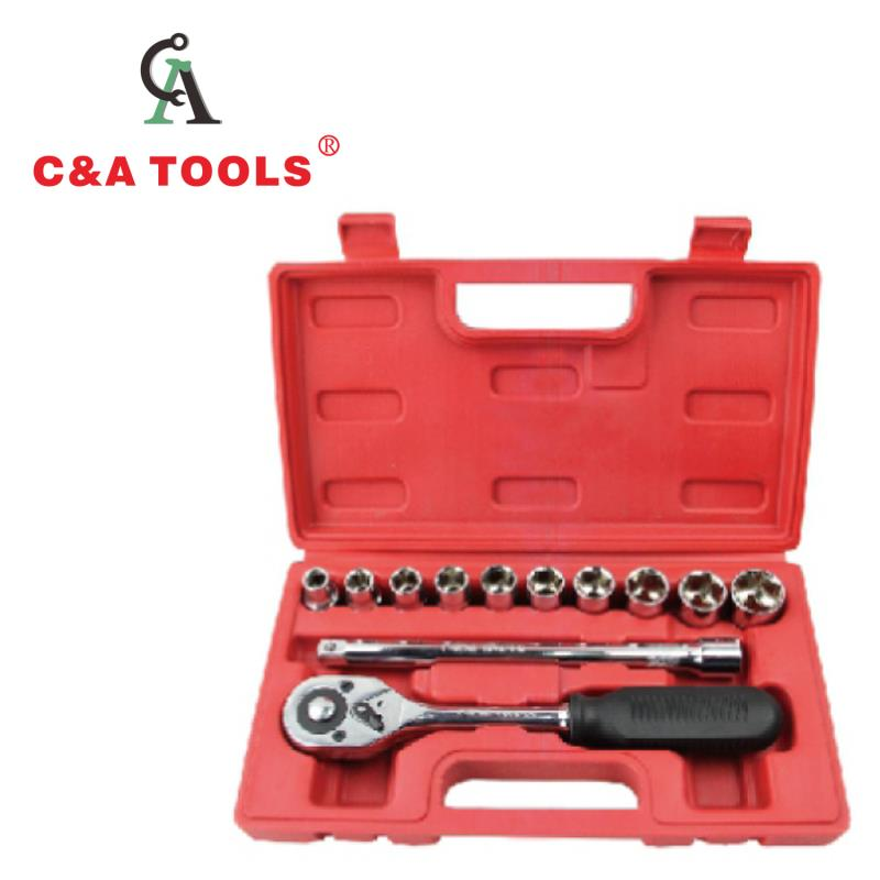 12pcs Socket Set with Blow Case