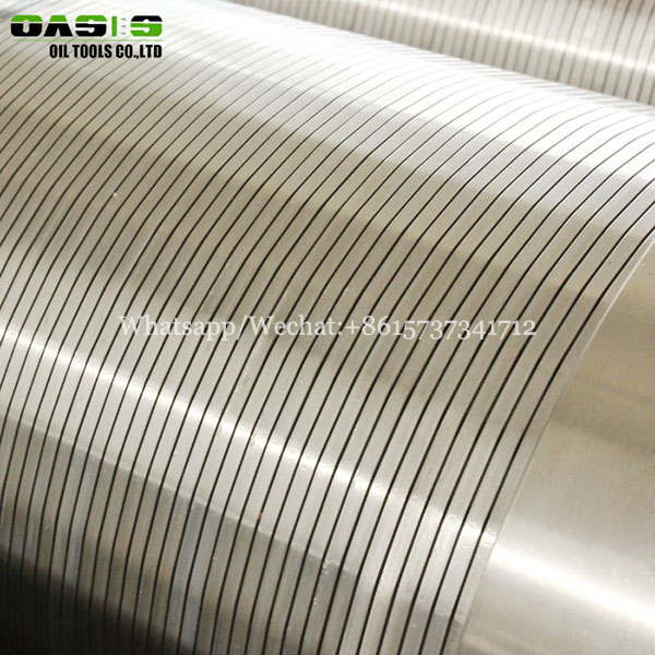 TP304 316L Stainless steel sand screen water wire wrapped screen filter for deep well