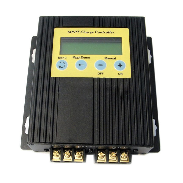 20A MPPT Solar Charge Controller 12V/24V with LCD Display