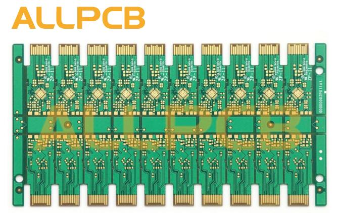 ALLPCB Chamfer Gold Finger Contact PCB Product Prototype and Big Quantity Supported Circuit Board Shenzhen Supplier