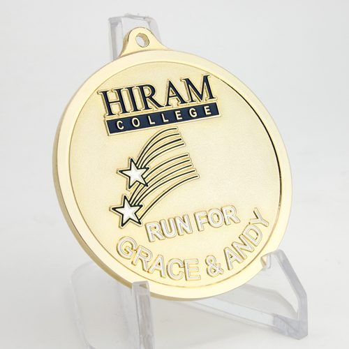 Run for Grace and Andy Custom Medals