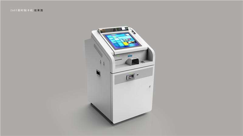 Card Indent-Printing Kiosk BST260T-AQ5 For India
