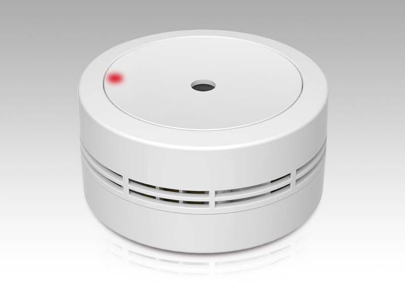 Mini photoelectric 10 years home-use smoke alarm GS535