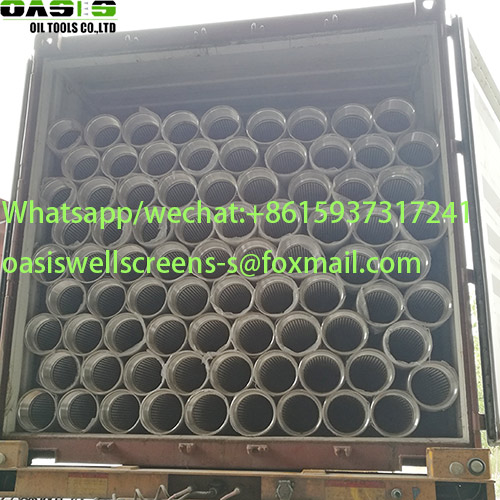 Stainless Steel Continuous Slot Water Well Screens