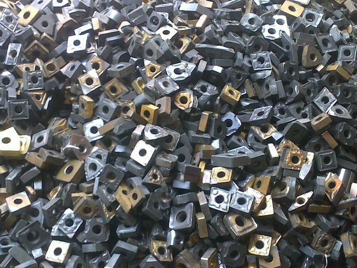Tungsten Carbide Scrap (100% Tungsten Carbide)