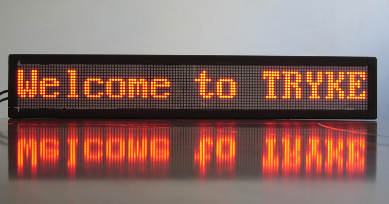 Wireless Bus Led Message Board Bus Led Message Scrolling
