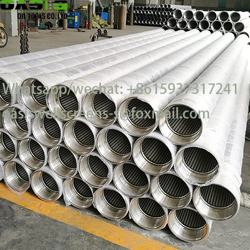 stainless steel casing pipe for boreholes
