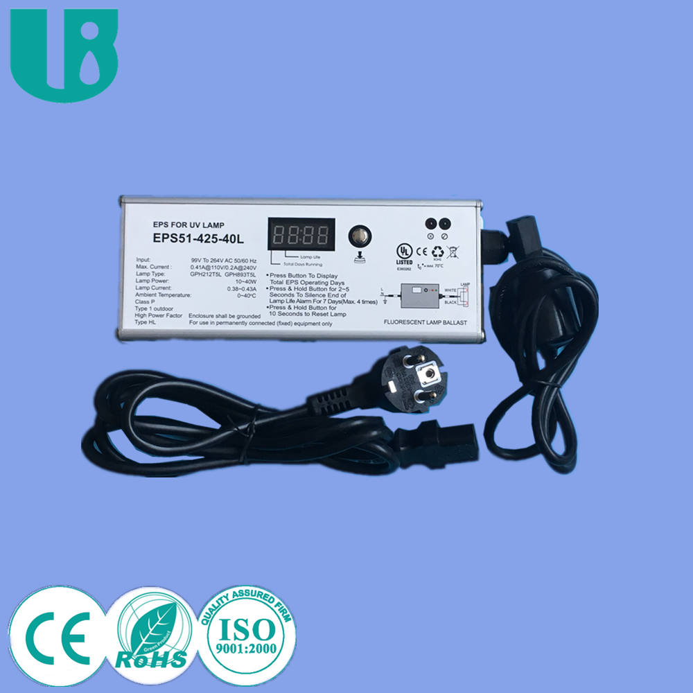 Electronic ballast for uvc germicidal lamps CE