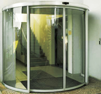 Curved sliding door(CS350)