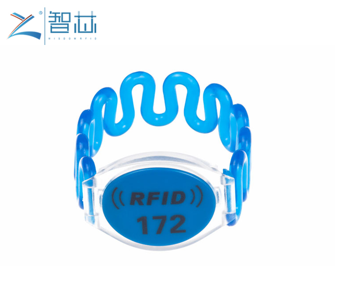 Spa Club Membership RFID Plastic Wristband