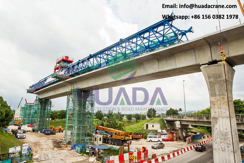 900 ton erection girder railway launching girder manufacturer for precast installation