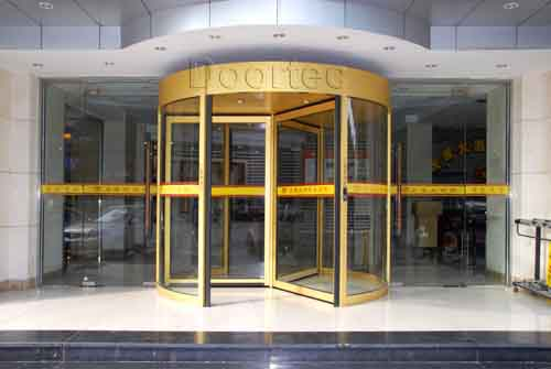 Three-wings automatic revolving door(HH-RD3)
