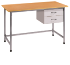 School office furniture teacher table in wood material