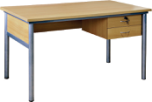 Hot sales cheap wooden teacher desk in simple design