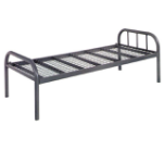 Latest single bed designs single size metal bed frame with metal mesh