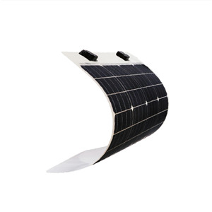high efficiency 50w monocrystalline flexible solar panel for car and boat