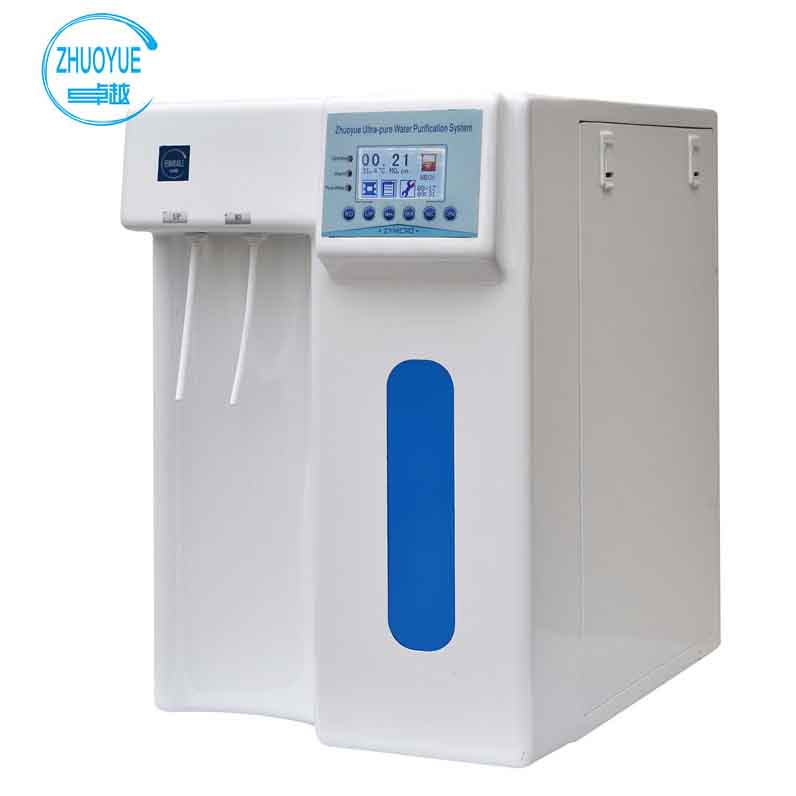 Deionized water system for lab microbiology