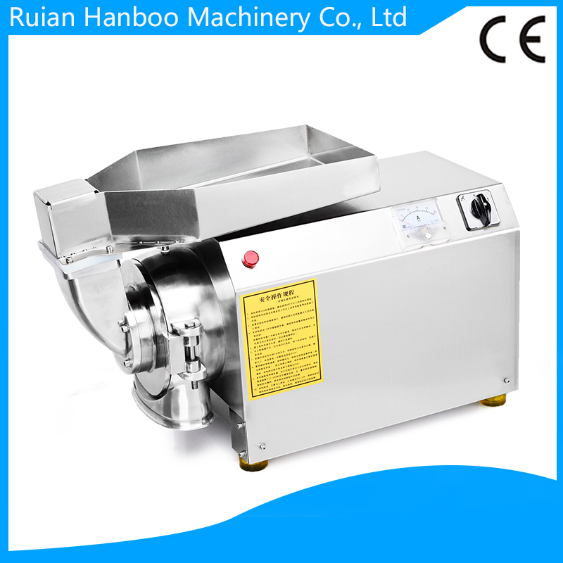Continuous traditional Chinese medicine Water flow type grinder