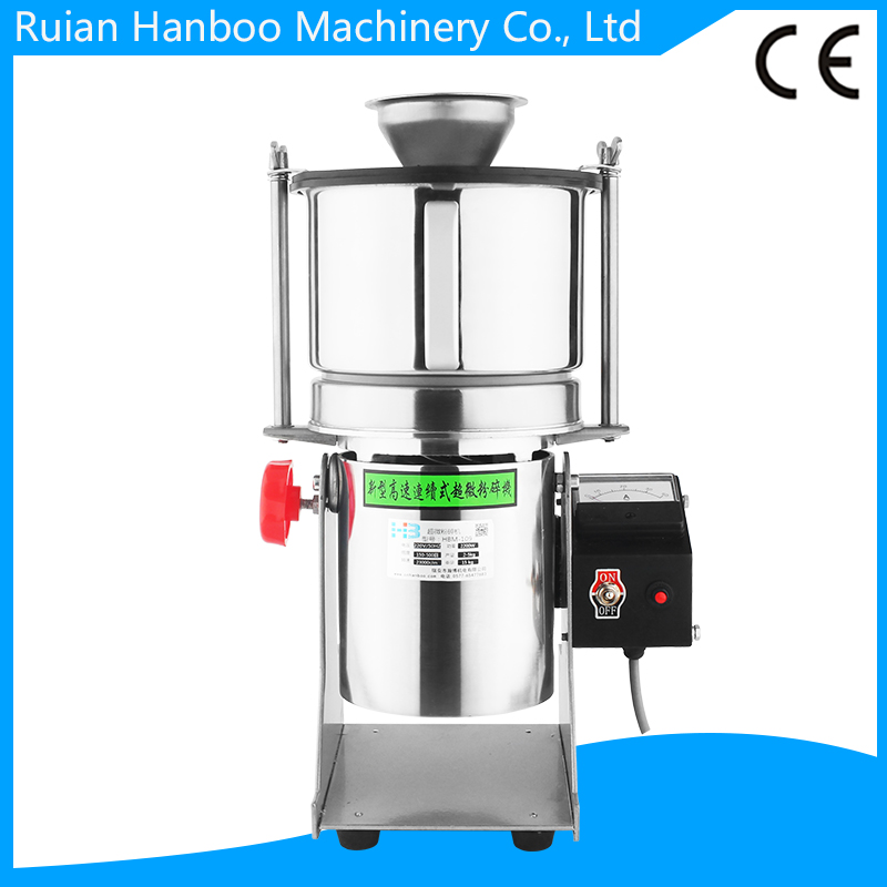 Super Fine Herbal Electric Automatic Continuous Powder Grinder/Pulverizer Machine