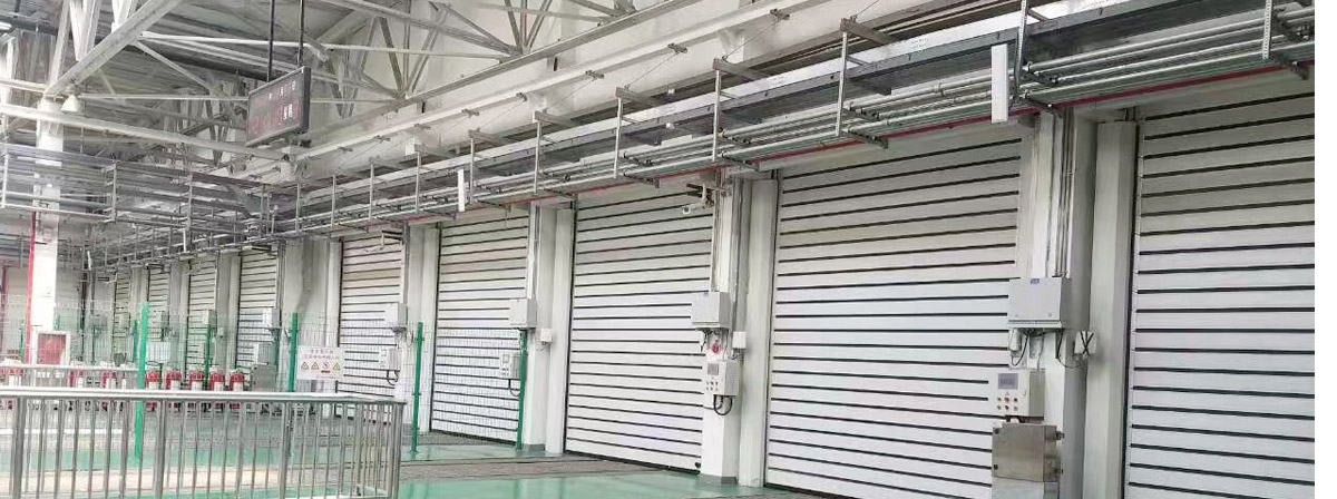 High Speed Hard Doors