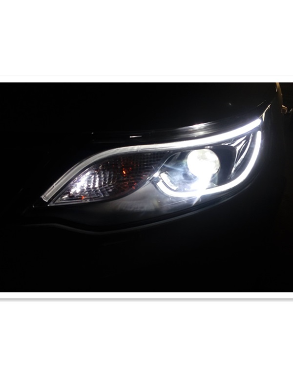 Kia K2 headlamp