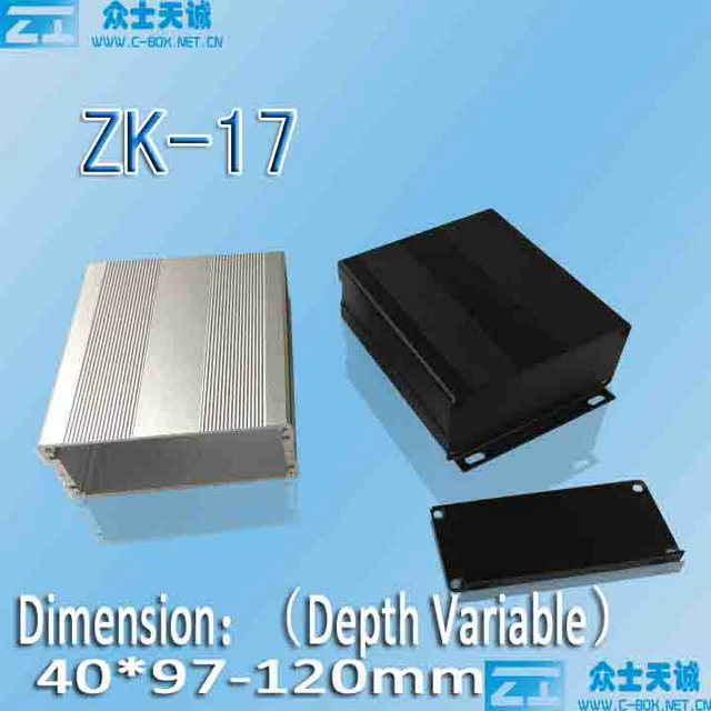 Aluminum enclosure shell box case metal cabinet