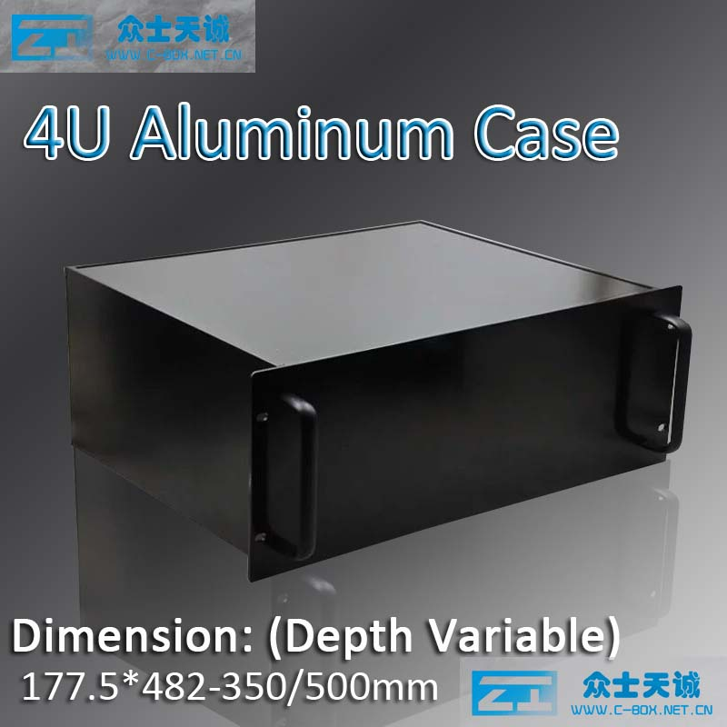 4u/19 standard aluminum server chassis metal box shell enclosure box