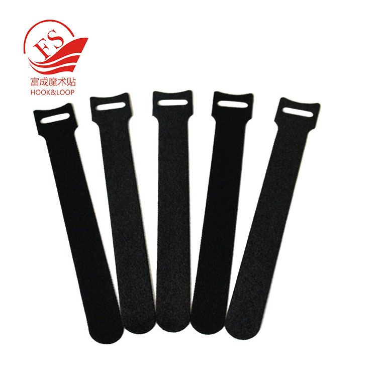 Reusable Injection hook and soft loop cloth Cinch Cable Tie Down Straps Set