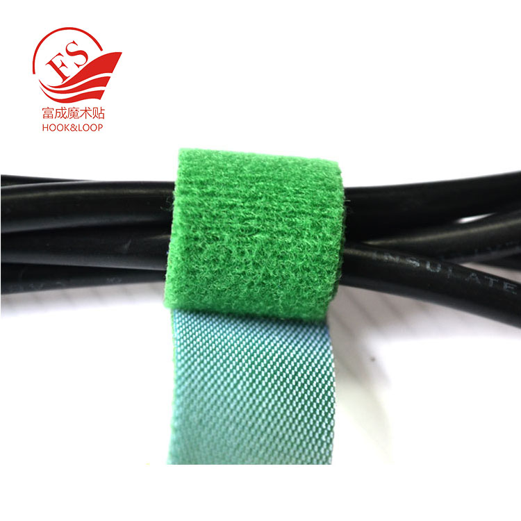 Hot selling colorful durable cable strap cable tape wire tie