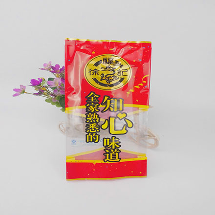 High Quality Back Center Sealed Custom Printed Plastic Bulk Candy Packaging Pouch Bag With Clear Window