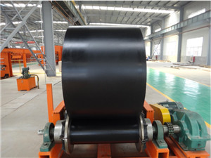 Polyester fabric conveyor belt ep 2000/5 assembly