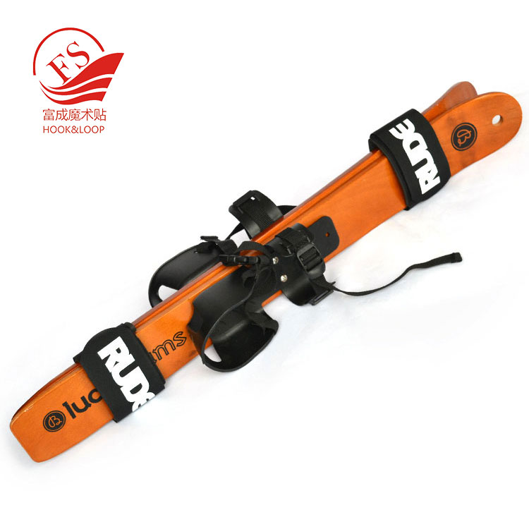 Nylon+Rubber high quality material customized logo alpine ski band