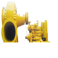 big capacity flood control dewatering pump