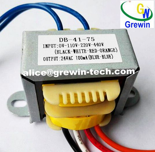 50Hz Ei Laminated Core Transformer with CB, IEC Certificates