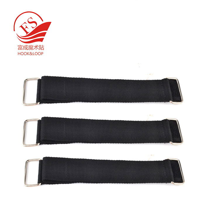 Adjustable Buckle Hook and Loop Wire Cord Straps for Bundle & Secure Wires