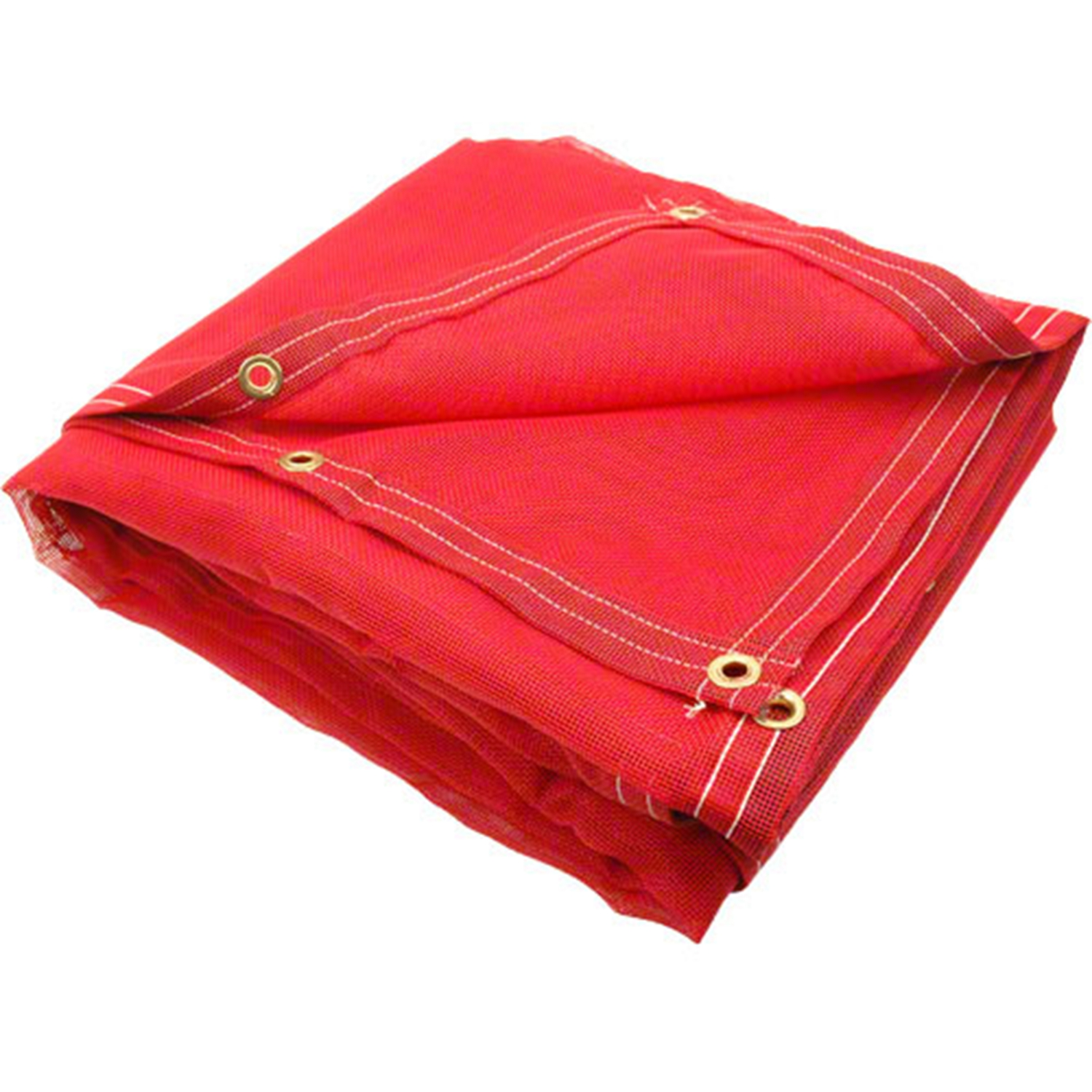 Red 600X300 PVC-Coated Polyester Fabric