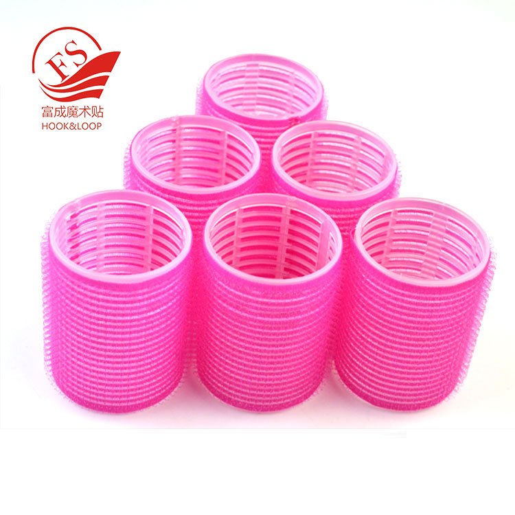 Barrel-like tape hair roller for hair protection