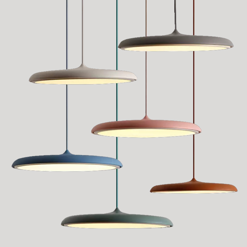 Newest polychromatic Macaroon led resin Chandelier supplier