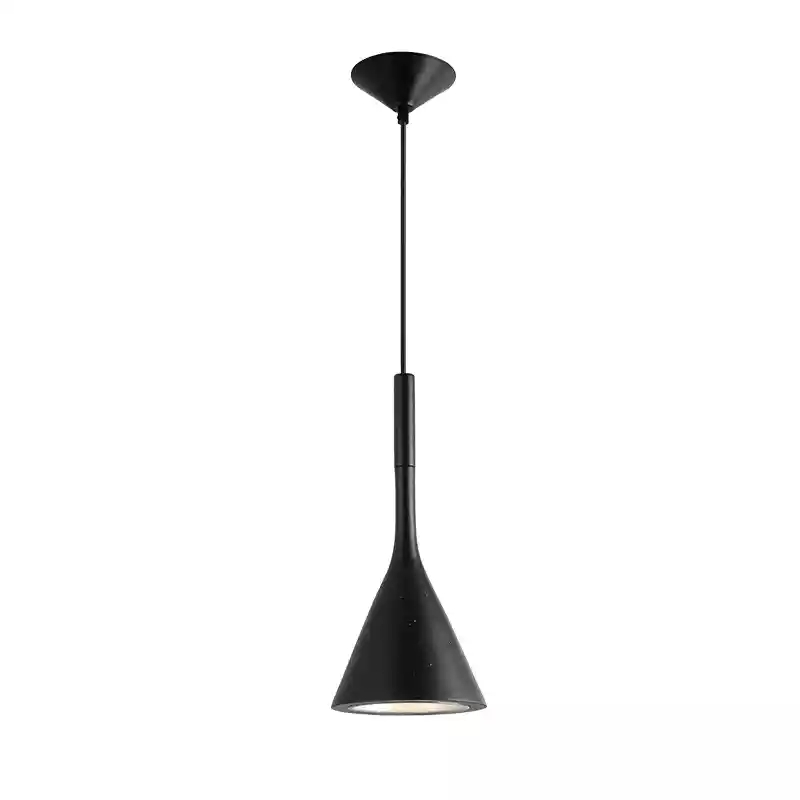 E14 black/white/red color resin modern pendant light for restaurant