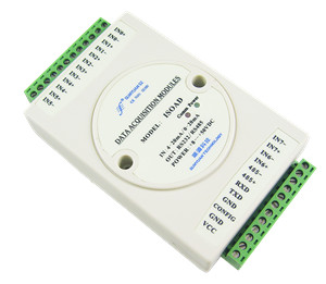 Isolation 0-20mA/4-20mA to RS485 or RS232  data acquisition
