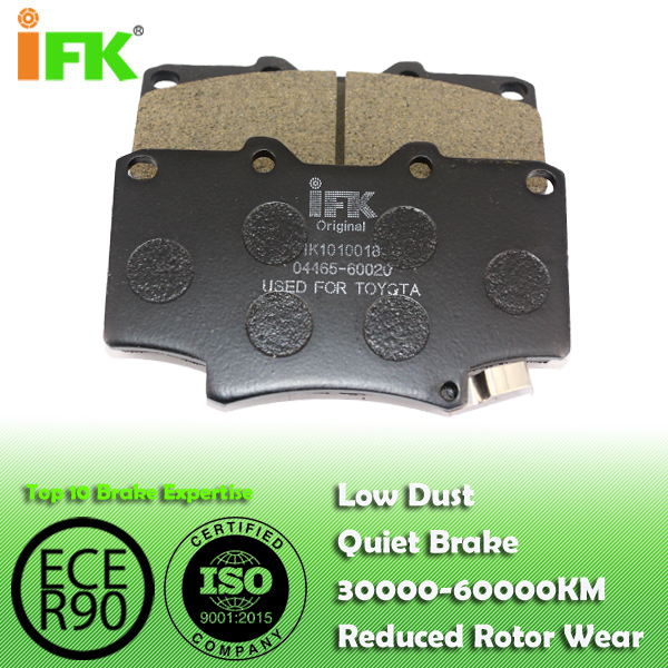 0446560020/GDB1154/D502 Semi-metallic/Low-metallic/NAO/Ceramic Disc brake pad manufacturer